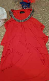 Bright summery vesatile dress. Size 8