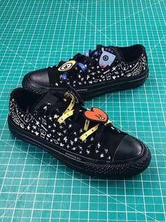 BT21 x Converse Chuck Taylor All Star - Black Low