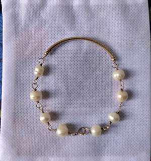 Fresh water pearl bracelet