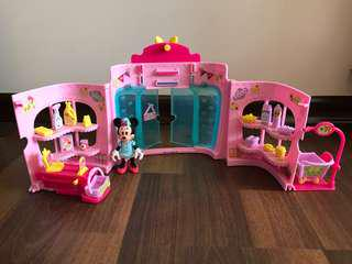 Minnie Mouse Supermarket and cashier set