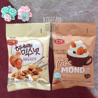 Murgerbon Honey Butter Mixnuts & Cafemond 35g