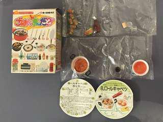絕版 2005 年Re-ment 廚房 有原裝盒 未拆袋