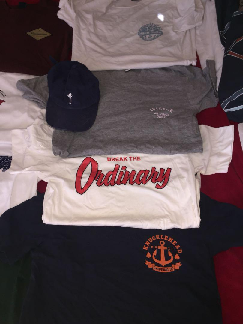 $10 streetwear,skateboard, surf branded tees + hats