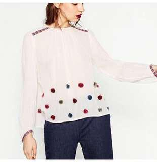BNWT Auth Zara Long Sleeve