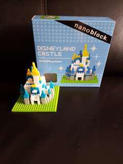 Kawada Nanoblock Tokyo Disneyland Castle