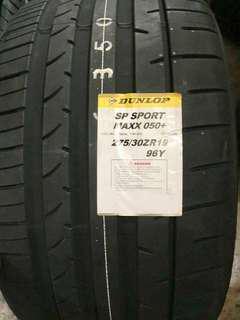 245/35R19 & 275/30R19 Dunlop Sport Maxx 050+