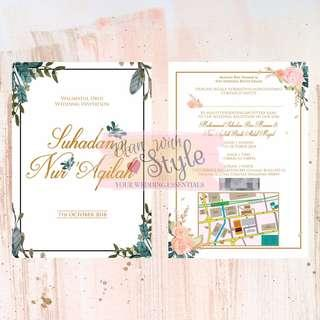 WC34 ~ Wedding Card