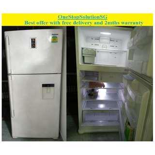 Samsung (532L) ,2doors Huge fridge / refrigerator ($480 + free delivery and 2mths warranty)