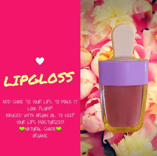 Nourishing lipgloss