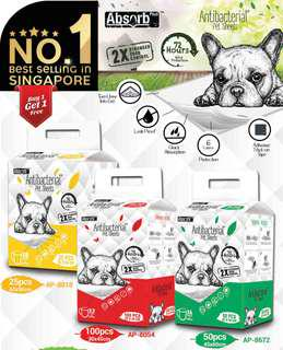 Anti Bacterial Pet Sheets Pee Pad