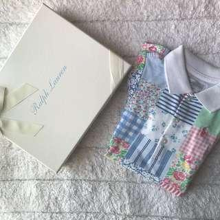 🚚 BN Ralph Lauren Baby/Toddler Girl Floral Patchwork Original Polo Dress With Diaper Cover 24mths! With Gift Box!