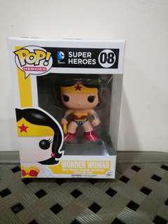 Funko Pop Dc Comics Super Heroes #08 WONDER WOMAN