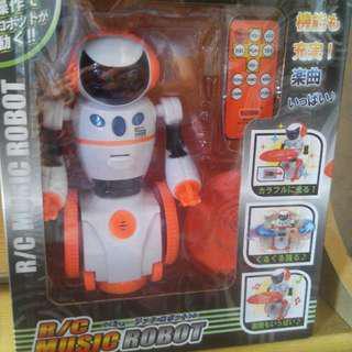 日本玩具 無線控制 Music Robot 音樂機械人 (全新)