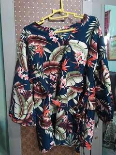 Kimono leaf top