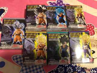 龍珠figure legend of GoKou and Vegeta 一set