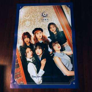 (WTS) GFRIEND - TIME FOR THE MOON NIGHT POSTER