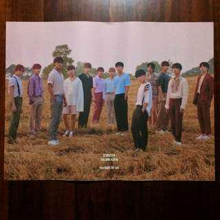 (WTS) SEVENTEEN - YOU MAKE MY DAY POSTER