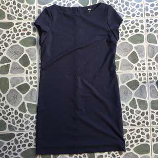 UNIQLO Navy Blue Dress