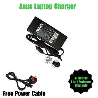 Asus Laptop Notebook Netbook Charger Adapter + Free Power Cable (All Model)