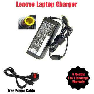 Lenovo Laptop Notebook Netbook Charger Adapter + Free Power Cable (All Model)