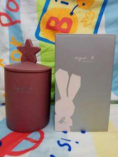 Agnes b DELICES 限定版 陶瓷罐 陶瓷盒 陶瓷樽 陶瓷瓶 筆筒 聖誕禮物