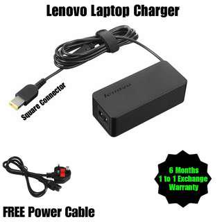 Lenovo Laptop Notebook Netbook Charger Adapter + Free Power Cable (All Model Yoga / ThinkPad / IdeaPad) USB connector