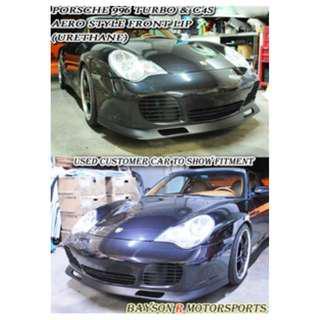 Porsche 996 911 TURBO AERO  頭唇