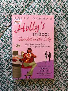 Holly's Inbox: Scandal in the City by Holly Denham