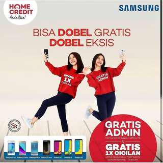 Promo Doble Samsung Seri J . Promo Free Admin dan Gratis 1X Cicilan
