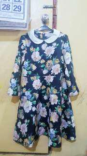 floral longsleeve dress