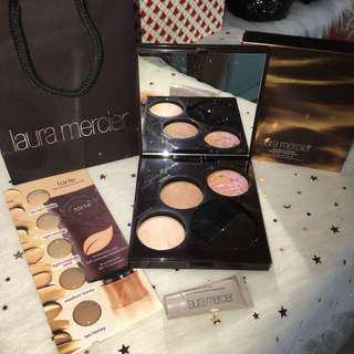🆓Postage!!! Laura Mercier Blush/Brozer/Highlighters Palette (Limited)