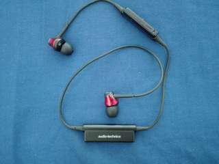 Audio Technica Wireless earphones ATH-CKR55BT-RD (Japan Domestic genuine product)