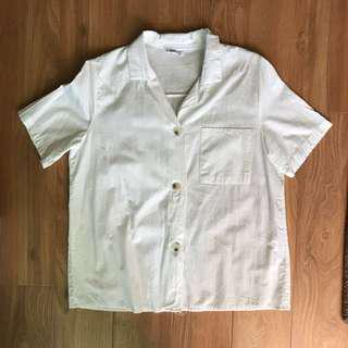 Korean Button Up Blouse