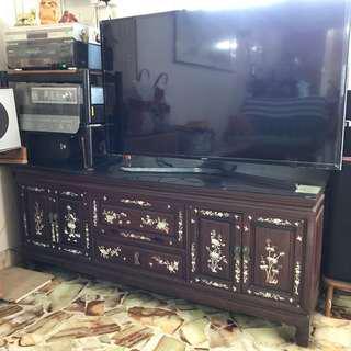 TV Cabinet - Rose Wood