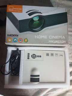 LED Home Cinema Projector