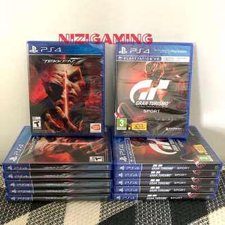 Ps4 Games Tekken 7 GT Sport