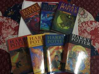 Full Set Harry Potter Books (Read Description)