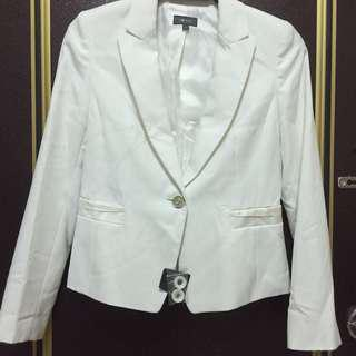 🚚 G2000白色西裝外套