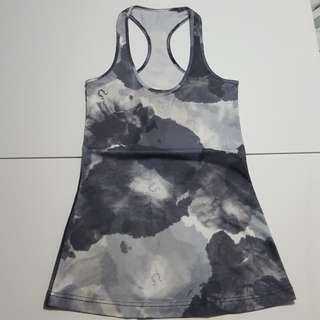 Abstract print tank top Sz 4/6