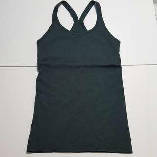 Dark green tank top Sz 6