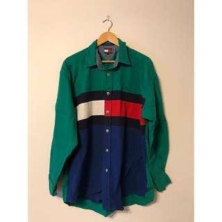 Vintage Tommy Hilfiger Colorblock Shirt