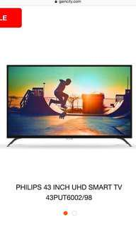 PHILIPS (43PUT6002) 43 INCH ULTRA HD 4K SMART LED TV