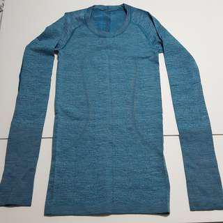 Blue long sleeve inner layer Sz 2