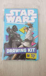 Star Wars Drawing Kit in 3D