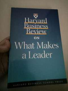 HBR on What Makes a Leader