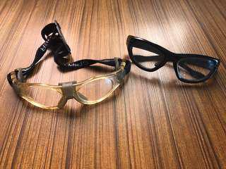 Lots of 2 goggles eyeglass