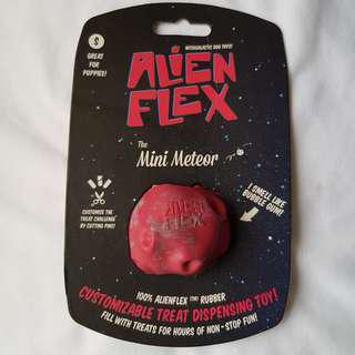 Alien Flex Mini Meteor Dog Treat Dispenser