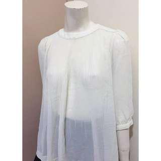 Ted Baker white blouse