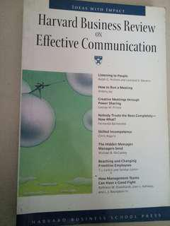 HBR on Effective Communication