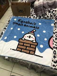 🚚 卡赫那拉毯子 粉/藍